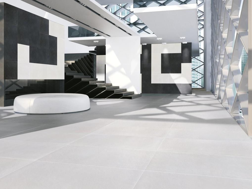 Resin Cement Effect Tiles _ White _4_