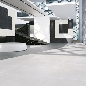Miami Resin/Cement Effect Tiles  - White