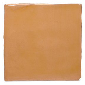Watercolours Terracotta Square Tiles - 003