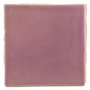 Watercolours Terracotta Square Tiles - 014