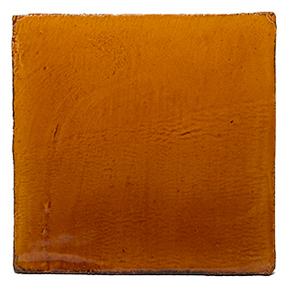 Watercolours Terracotta Square Tiles - 024