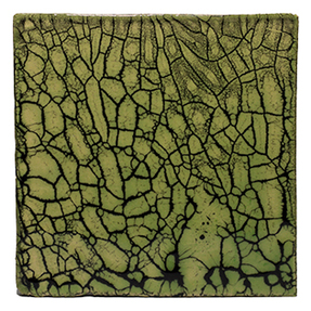 Crazed Terracotta Fish Scale Tiles - 014
