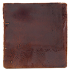 Watercolours Terracotta Leaf Tiles - 026