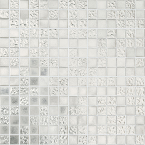 Allure Mix 026W & 027W White Gold 24CT Glass Mosaic