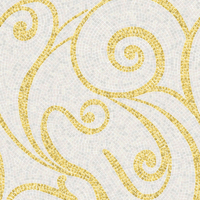 Artistic Miran Gold  Glass Mosaic