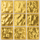Decorum 075F Yellow Gold 24CT Glass Mosaic