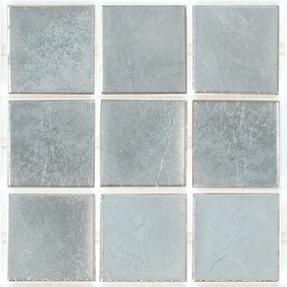 Decorum 076F White Gold 24CT Glass Mosaic