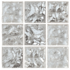 Decorum 077W White Gold 24CT Glass Mosaic