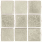 Decorum 078F Platinum White Glass Mosaic