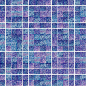 Fluorescence 732 Glass Mosaic