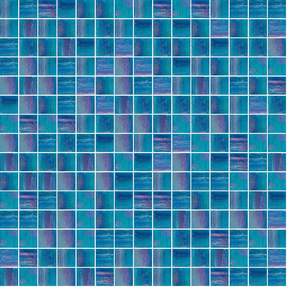Fluorescence 844 Glass Mosaic