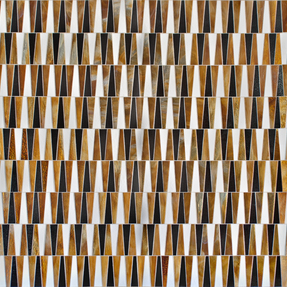 Geometric Parrallels 2 Glass Mosaic
