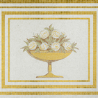 Golden Roma Royal Bowl Glass Mosaic