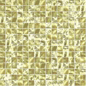 Evolve 009 Yellow Gold Glass Mosaic