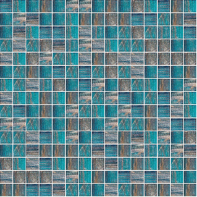 Senses 245 Square Glass Mosaic