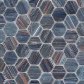 Senses 218 Hexagon Glass Mosaic