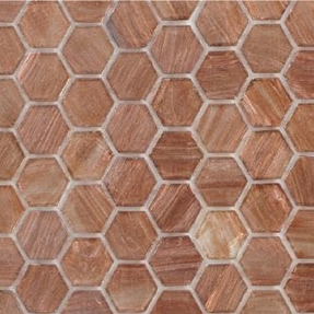 Senses 222 Hexagon Glass Mosaic