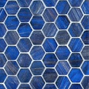 Senses 239 Hexagon Glass Mosaic