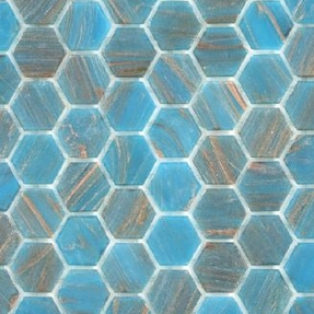 Senses 242 Hexagon Glass Mosaic