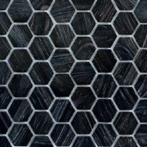 Senses 260 Hexagon Glass Mosaic