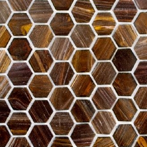 Senses 270 Hexagon Glass Mosaic