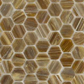 Senses 282 Hexagon Glass Mosaic
