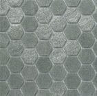 Ecco 2102 Hexagon Glass Mosaic
