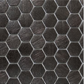 Ecco 2104 Hexagon Glass Mosaic