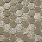 Ecco 2120 Hexagon Glass Mosaic