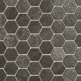 Ecco 2124 Hexagon Glass Mosaic
