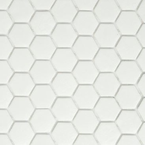 Bold 160 Hexagon Glass Mosaic