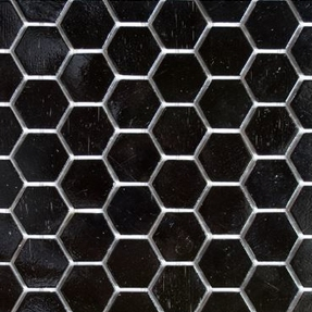 Bold 208 Hexagon Glass Mosaic