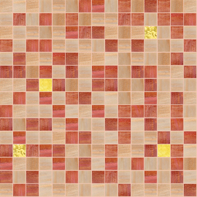 Concepts 'Precious' Cheerful Glass Mosaic