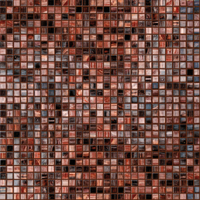 Concepts Carnelian Glass Mosaic
