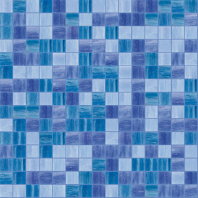 Concepts Navy Glass Mosaic