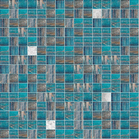 Concepts 'Precious' Shaggy Glass Mosaic
