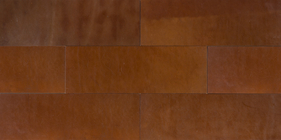 Natural Leather Tiles - Chestnut