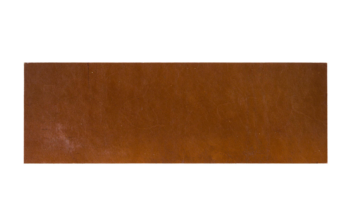 Natural Leather Tiles - Chestnut 2