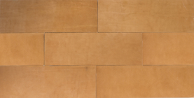 Natural Leather Tiles - Oak