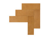Natural Leather Tiles - Oak 3