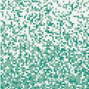 Shading Blend Green Lagoon Glass Mosaic