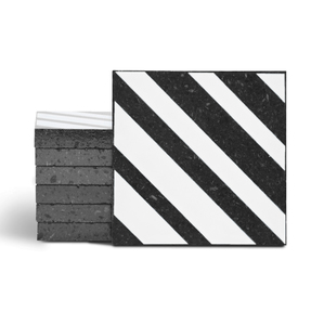 Magma Altis Pattern Tiles - Bianco