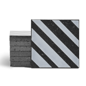 Magma Altis Pattern Tiles - Cement