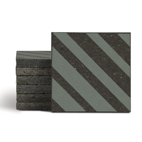 Magma Altis Pattern Tiles - Olive