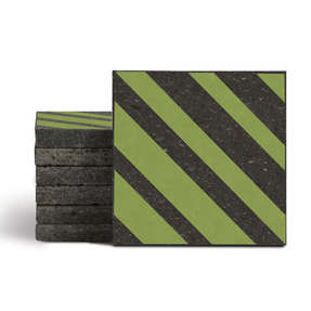 Magma Altis Pattern Tiles - Moss