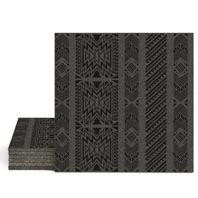 Magma Anive A Pattern Tiles - Nero