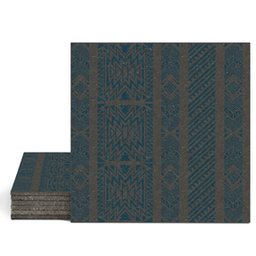 Magma Anive A Pattern Tiles - Cobalt