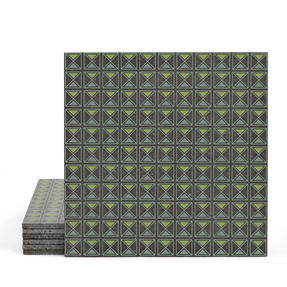 Magma Armor Pattern Tiles - Olive