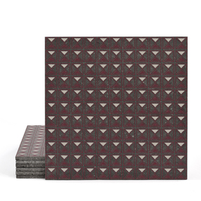 Magma Armor Pattern Tiles - Burgundy