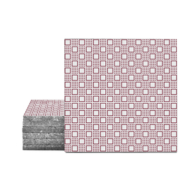 Magma Danida Pattern Tiles - Burgundy